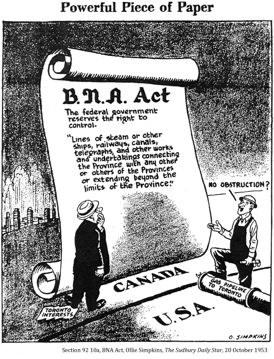 bna act of confederation Confederation was accomplished when the queen gave royal assent to the british north america act (bna act) on march 29, 1867, followed by a royal proclamation stating.